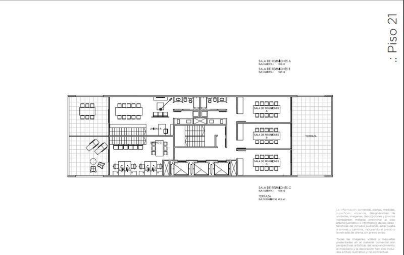 oficina - palmera bureau - puerto de olivos, a estrenar! piso 17, vista al rio