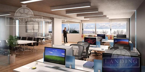 oficina - palmera bureau - puerto de olivos, entrega dic 2019, piso 17, hermosa vista