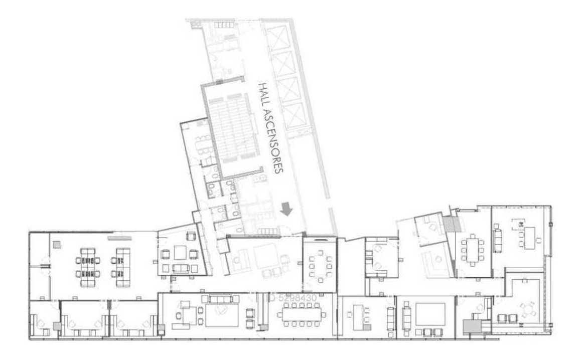 oficina piso 16, edificio las artes