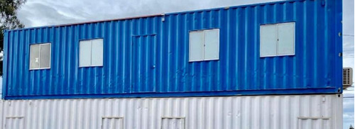 oficina planta libre 40 pies container marítimo c.aire acnd