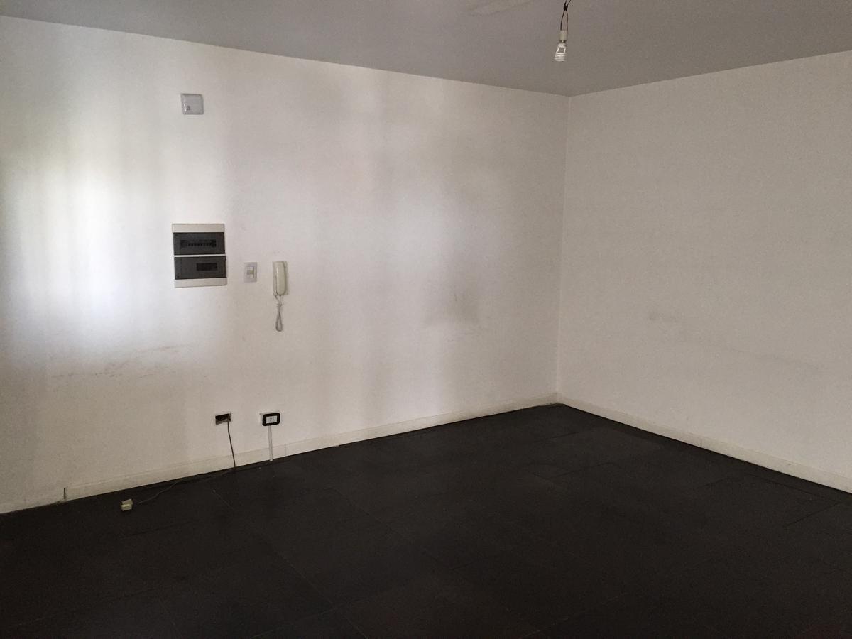 oficina planta libre 92m con cochera - piso alto al frente !