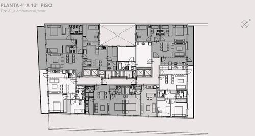 oficina planta libre de 115.88 m2 - emprendimiento en pozo   calidad de construcción y amenities