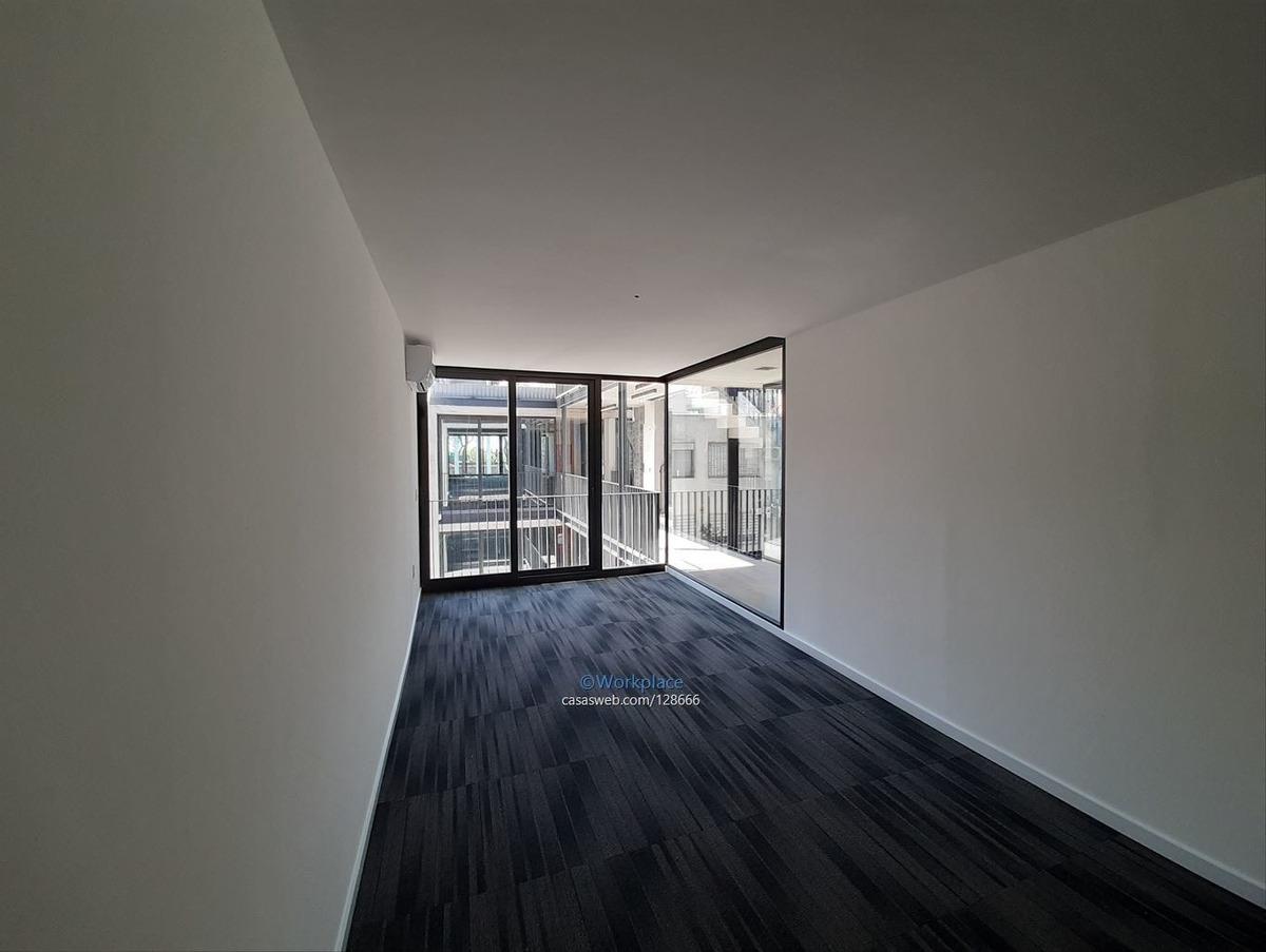 oficina pocitos nuevo - a metros wtc - alquiler- a estrenar