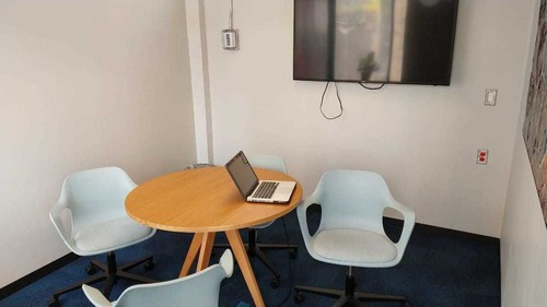 oficina privada completamente equipada para 6 personas