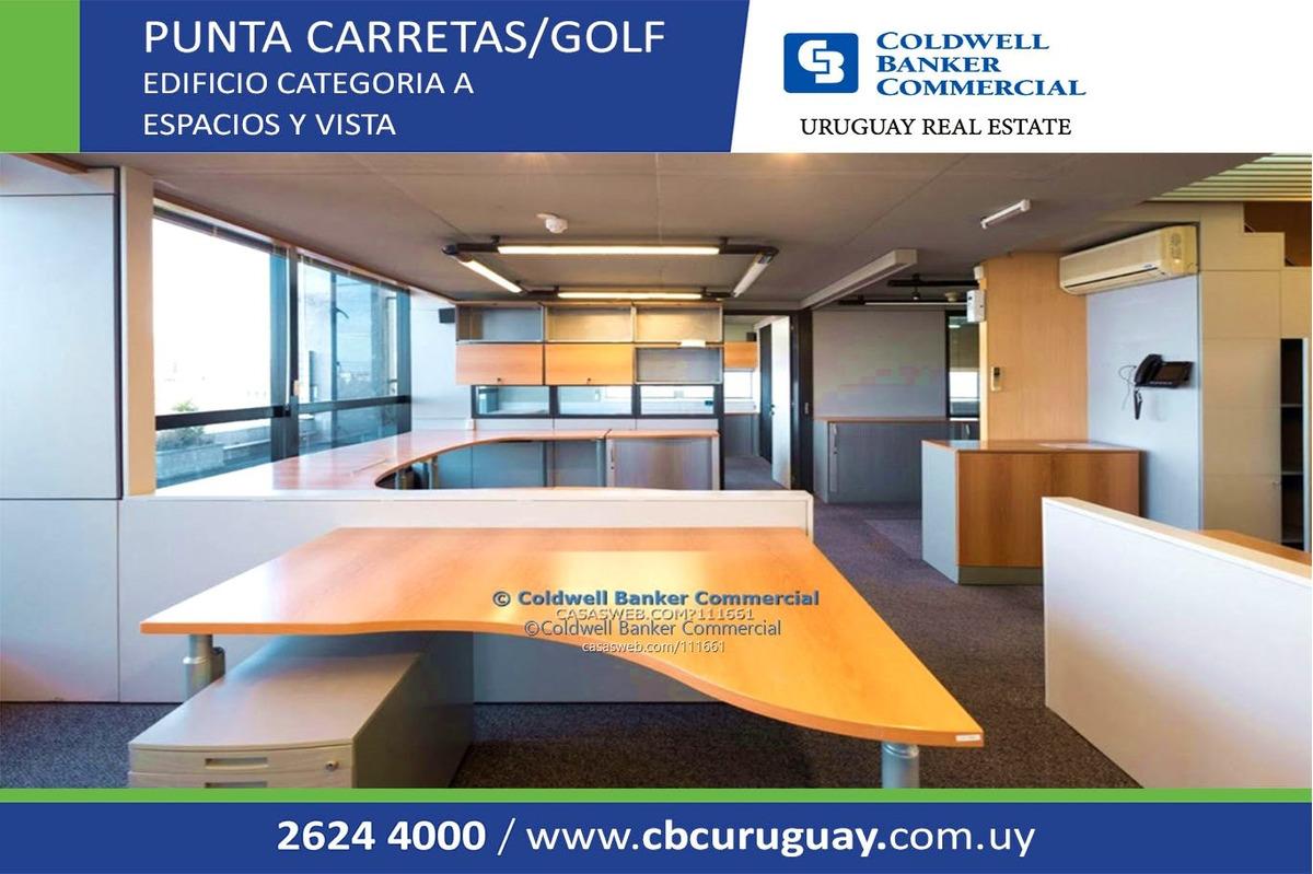 oficina punta carretas golf alquiler equipada