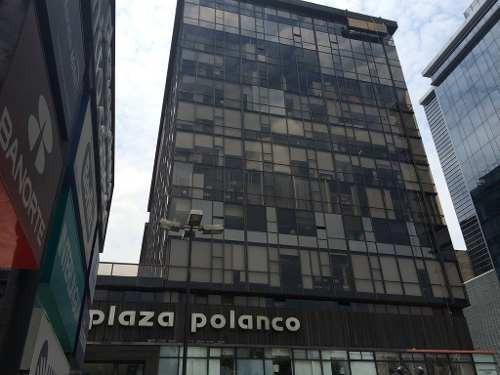 oficina renta plaza polanco, col. polanco