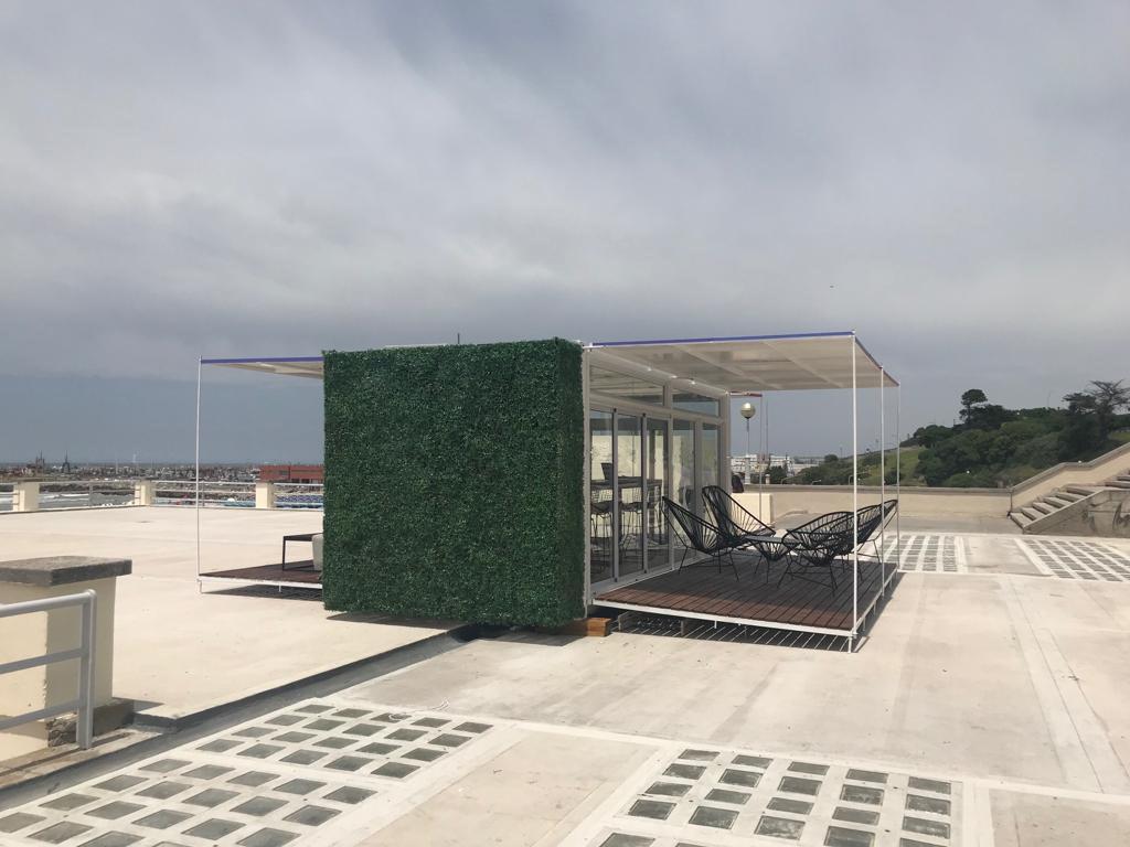 oficina tipo loft - container