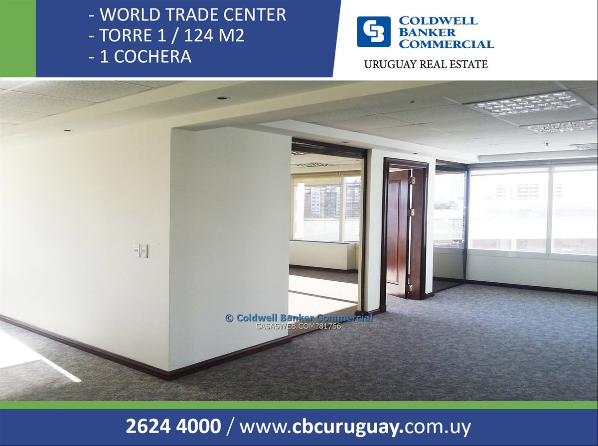 oficina world trade center - wtc - alquiler