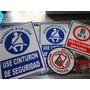 Etiquetas Autoadhesivas Para Camiones.4 En Una Sola!