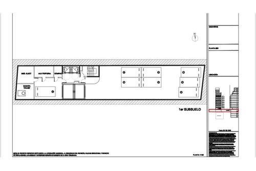 oficinas a construir en palermo chico, 3 sub coc