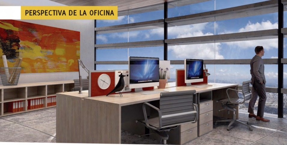 oficinas a sólo 6 minutos de city center