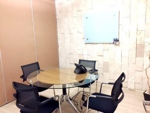 oficinas aaa espectacular vista amuebladas con servicios