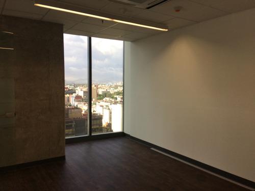 oficinas acondicionadas en reforma - en renta
