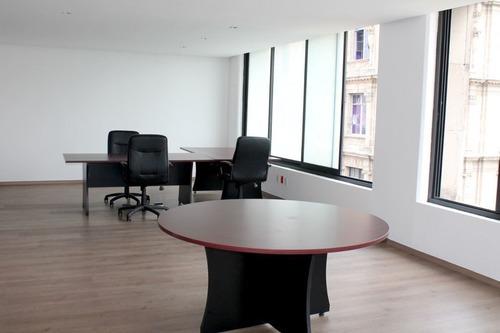 oficinas acondicionadas en renta col. centro frente a la suprema corte