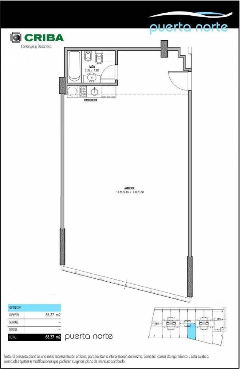 oficinas alquiler nordelta puerta norte