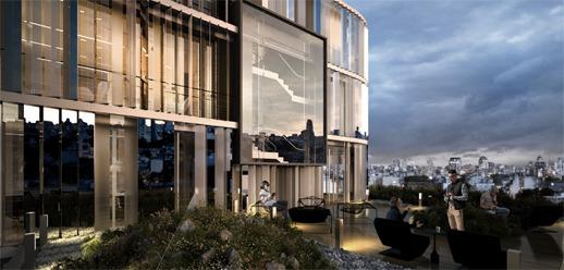 oficinas alquiler   summers, palermo caba   1000 m²