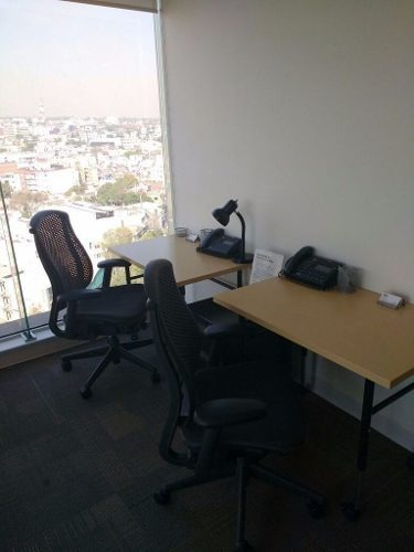 oficinas completamente equipadas, servicios incluidos hasta para 8 personas