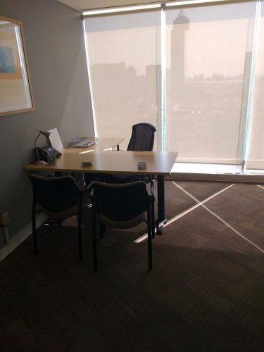 oficinas completamente equipadas, servicios incluidos para 10 a 12 personas.