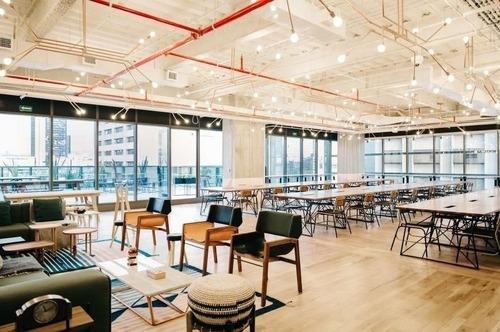oficinas completamente equipadas, servicios incluidos para 12 a 15 personas