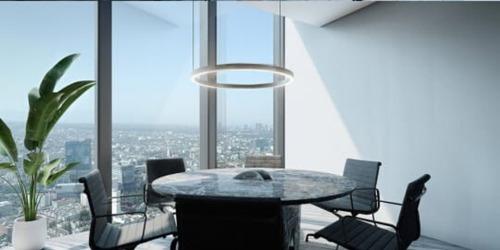 oficinas con vista espectacular de 360°,  nivel 48