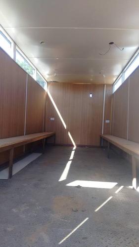 oficinas de 6 x 2.40 metros 2 comedores 2 vestidores