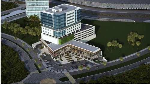oficinas de lujo con vista a la laguna