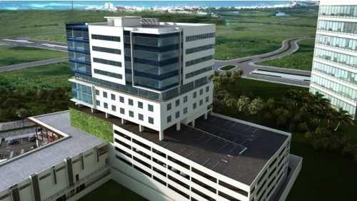 oficinas de lujo con vista a la laguna azuna