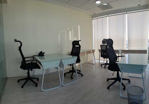 oficinas ejecutivas en renta, 10m2, angelopolis, puebla