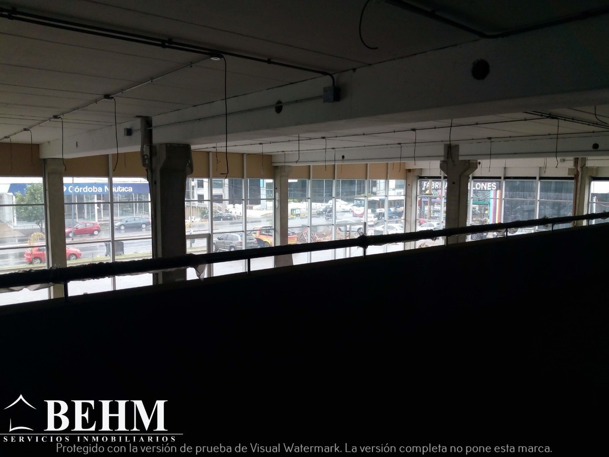 oficinas  en alquiler 400 m2 av colon categoria