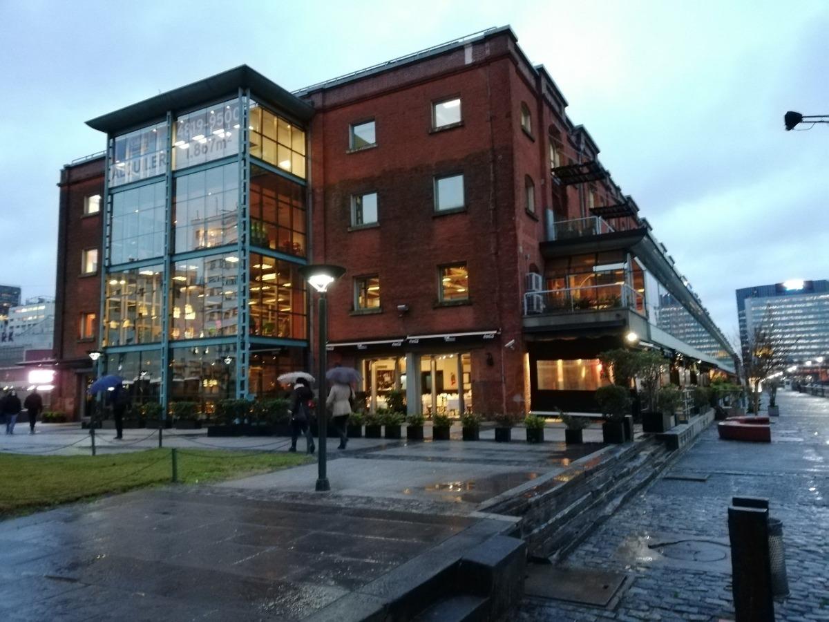 oficinas en alquiler dock del plata - alicia m. de justo 400