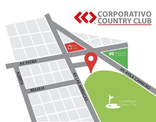 oficinas en corporativo country club