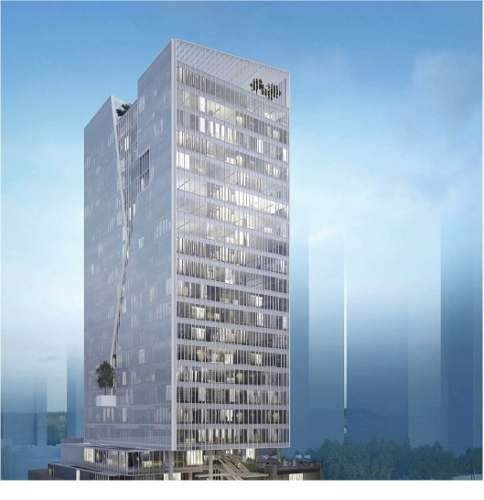 oficinas en dos puntas corporate towers, andares