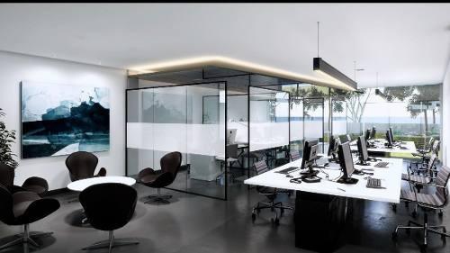 oficinas en plaza corporativa armoran