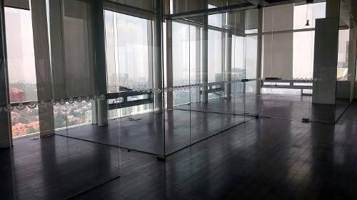 oficinas en renta de 510m2 en 3 niveles, av. santa fe