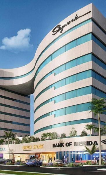 oficinas en renta en sky work frente plaza la isla y cabo norte