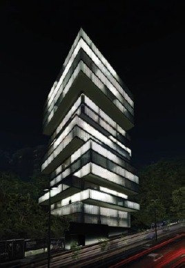 oficinas en renta en tamarindos, col. bosques de las lomas, obra blanca