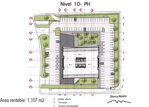 oficinas en renta - exclusiva torre san pedro - valle - san pedro, nl.