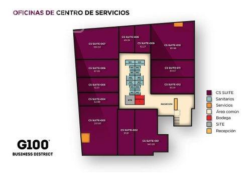 oficinas en renta puerto interior g-100