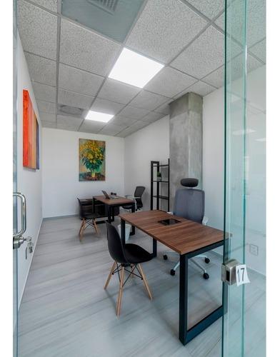 oficinas en renta todo incluido en león, primer mes gratis!!