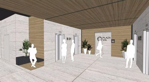 oficinas en renta - torre vía cordillera - valle poniente, nl.
