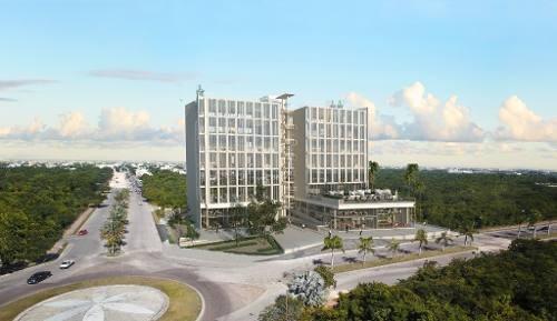 oficinas en venta, con la mejor ubicación de playa del carmen.  humana  modelo medium suite.