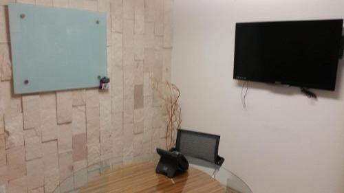 oficinas equipadas en renta. centro sur.