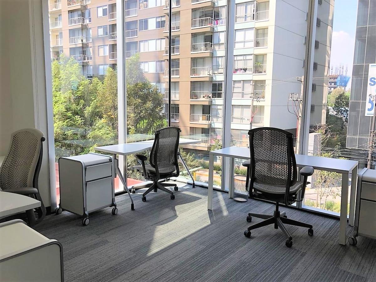 oficinas equipadas, lujosas y funcionales, edificio aaa, zona polanco.