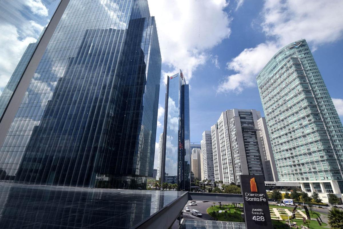 oficinas frente al parque la mexicana downtown santa fe ii