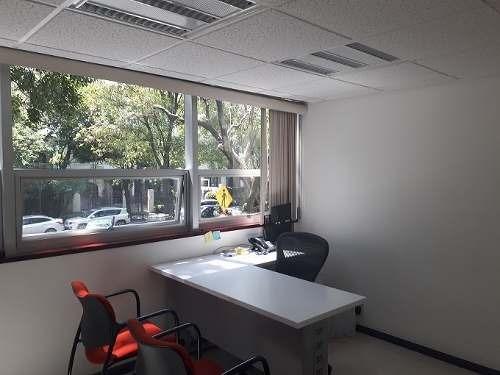oficinas frente al parque lincoln.