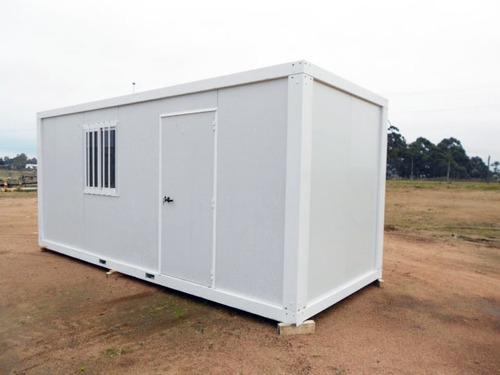 oficinas móviles, módulos habitacionales, obradores, trailer