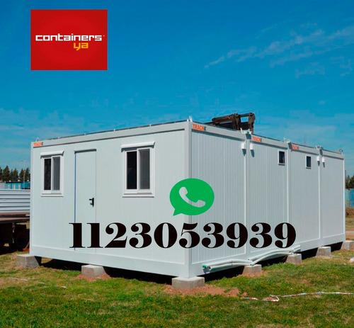 oficinas moviles y módulos con diseño a medida