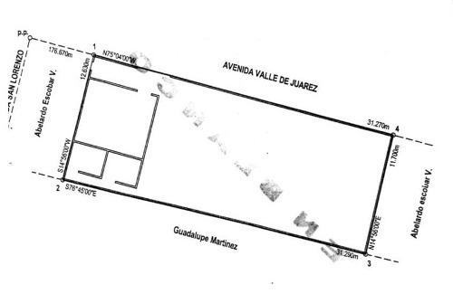 oficinas venta/renta valle de juárez 7,000,000 / 70,000 dangar gl7