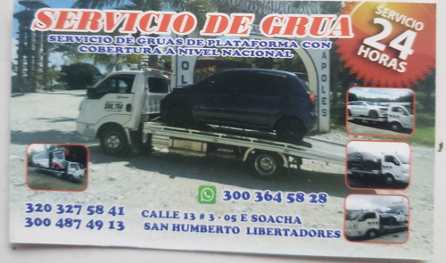 ofrecemos servicio de grua en bogota 24 horas 3203275841