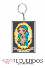 Ofrenda Virgen De Guadalupe Paquete 50 Piezas Caricatura Ngo